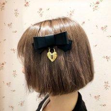 画像4: heart key barrette(ハートキーバレッタ) (4)