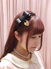 画像1: heart key Headband(ハートキーカチューシャ) (1)