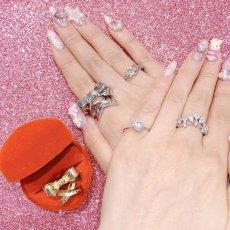 画像2: Dolly ribbon ring(ドーリーリボンリング) (2)