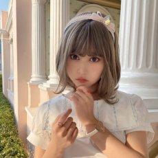画像7: bijou ribbon headband(ビジューリボンカチューシャ) (7)