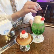 画像10: 【喫茶ローズマリーソワール】パフェグラス (10)