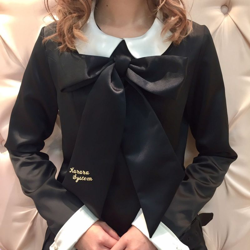 画像1: 【KURARA system COUTURE】big ribbon (1)