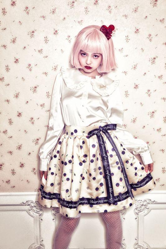画像1: Emily's ribbon skirt(エミリーリボンスカート) (1)