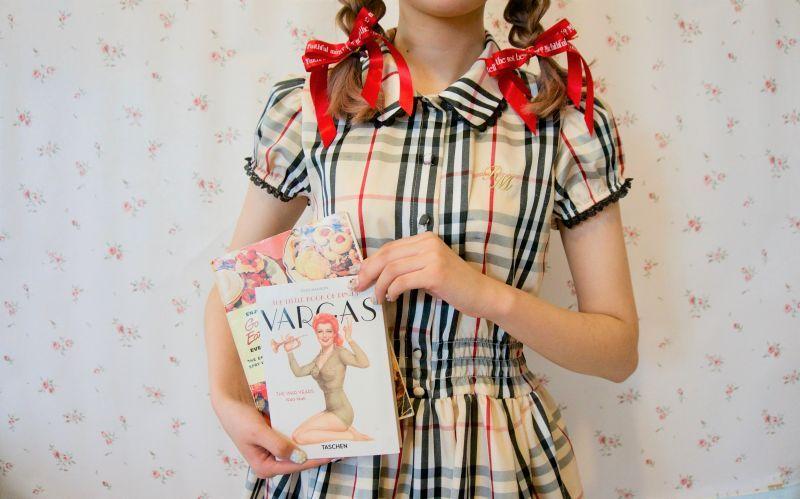 画像1: Princess Ribbon hair-elastic(プリンセスリボンヘアゴム) (1)