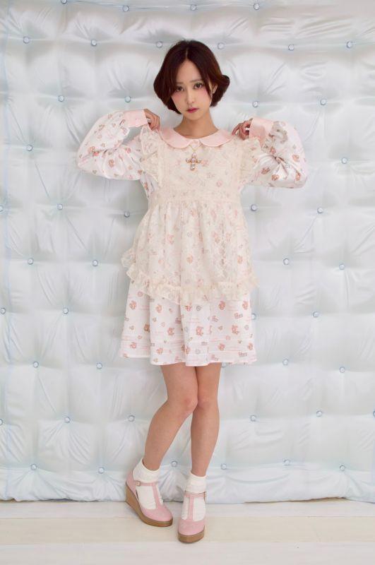 画像1: KURARA'S maid apron (1)
