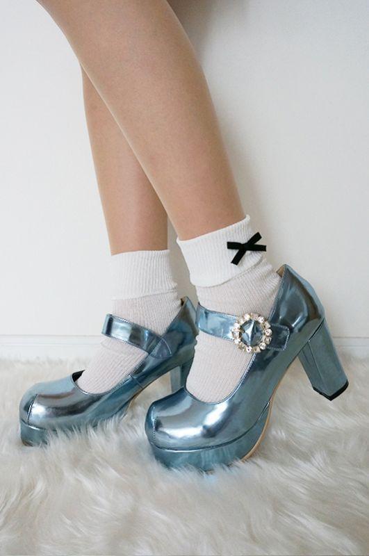画像1: 在庫わずか♡【FINAL SALE】lady bijou shoes (1)