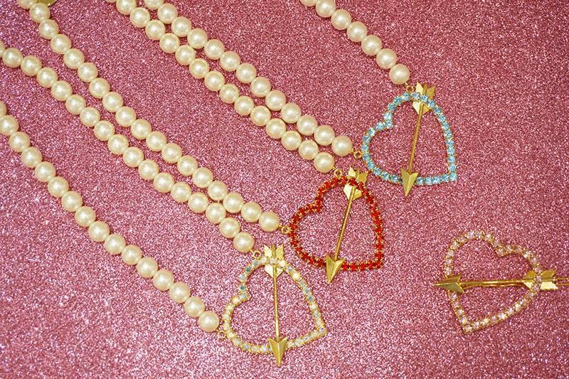 画像1: heart arrow necklace (1)