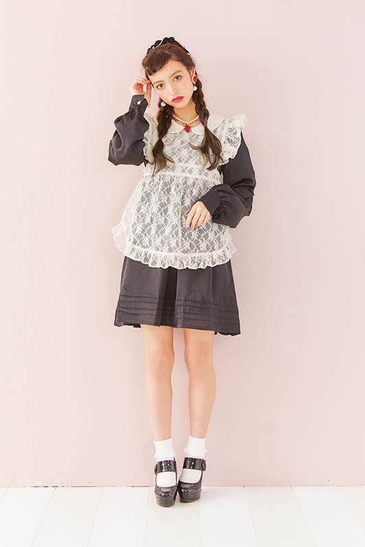 画像1: 【20%OFF】mary's one-piece dress(マリーのワンピース) (1)