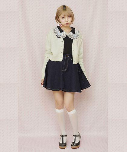 画像1: 【40%OFF】miss violet cardigan (ミス ヴァイオレット カーディガン) (1)