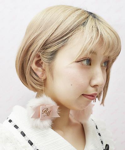 画像1: sweet puff earring&pierce(スイートパフイヤリング&ピアス) (1)