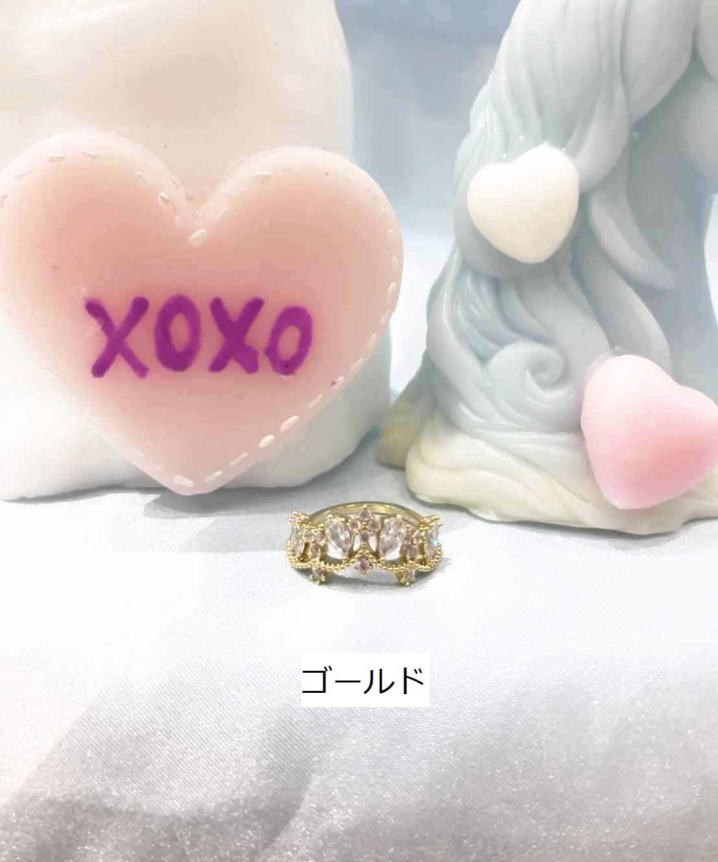 画像1: Tiara ring(ティアラリング) (1)