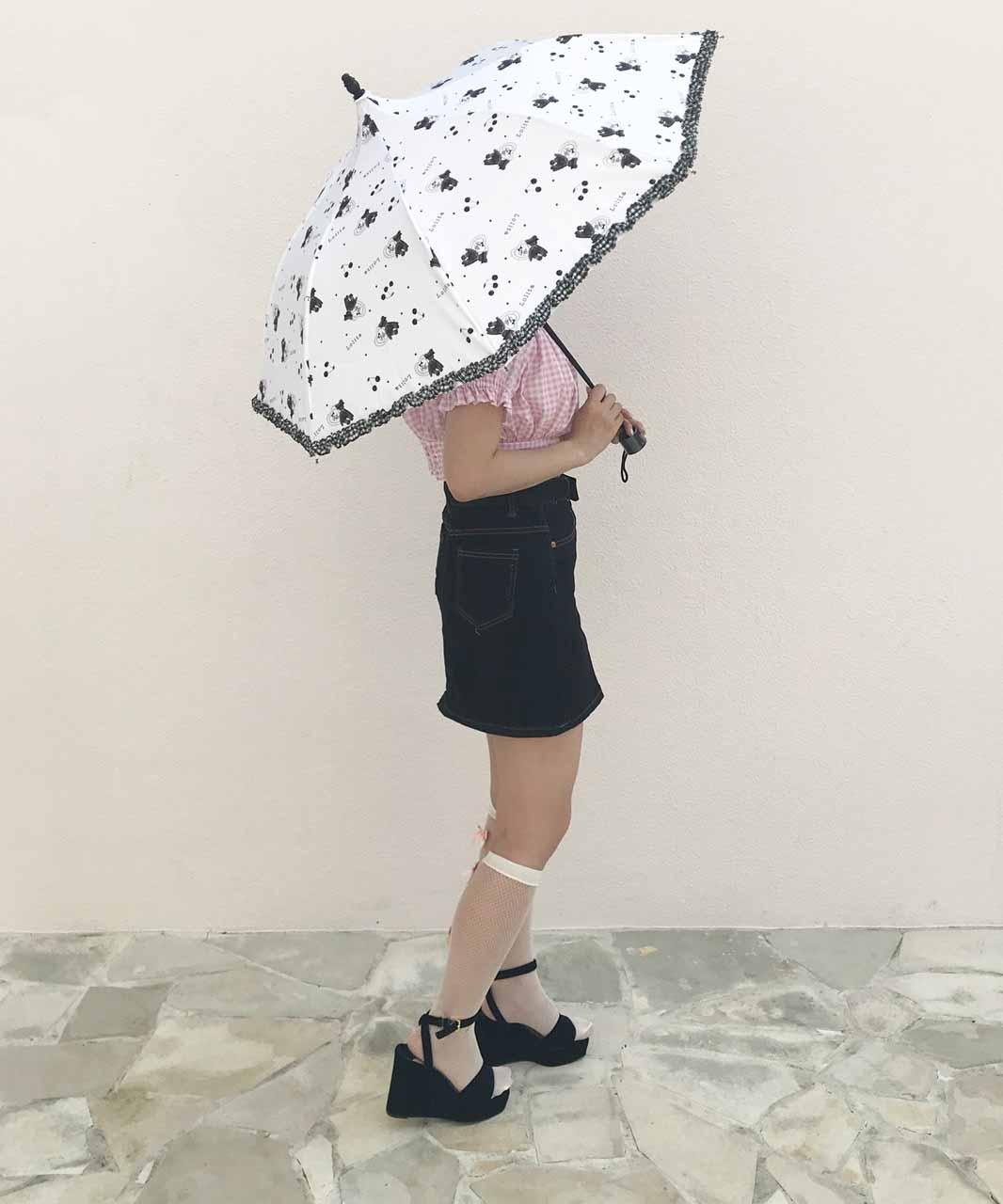 画像1: folding umbrella (フォールディング アンブレラ) (1)