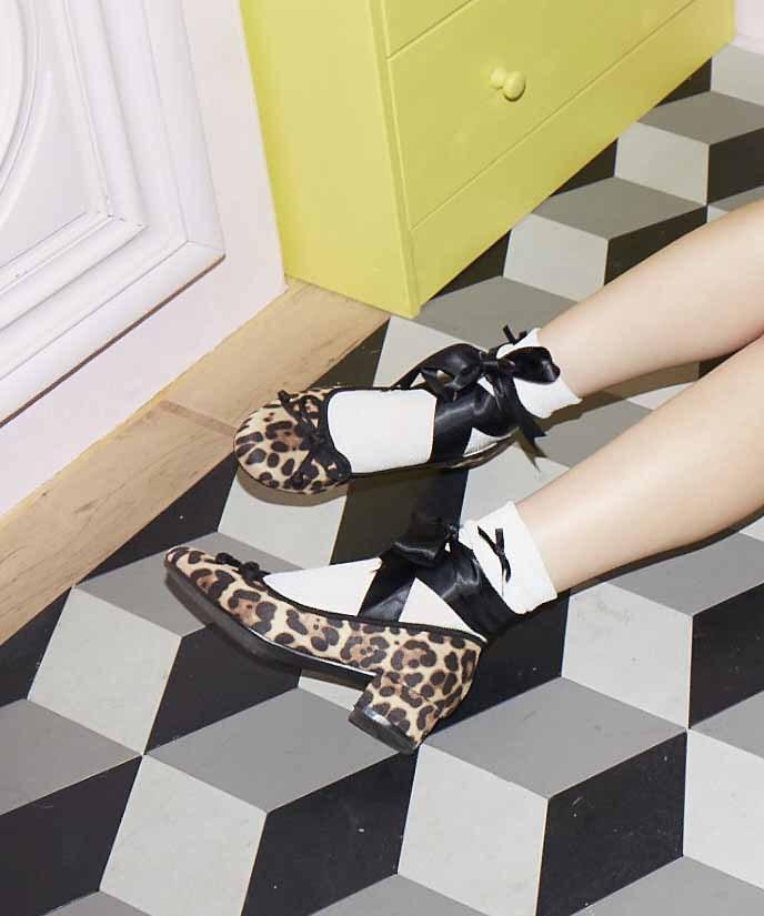 画像1: ballet ribbon shoes  (1)