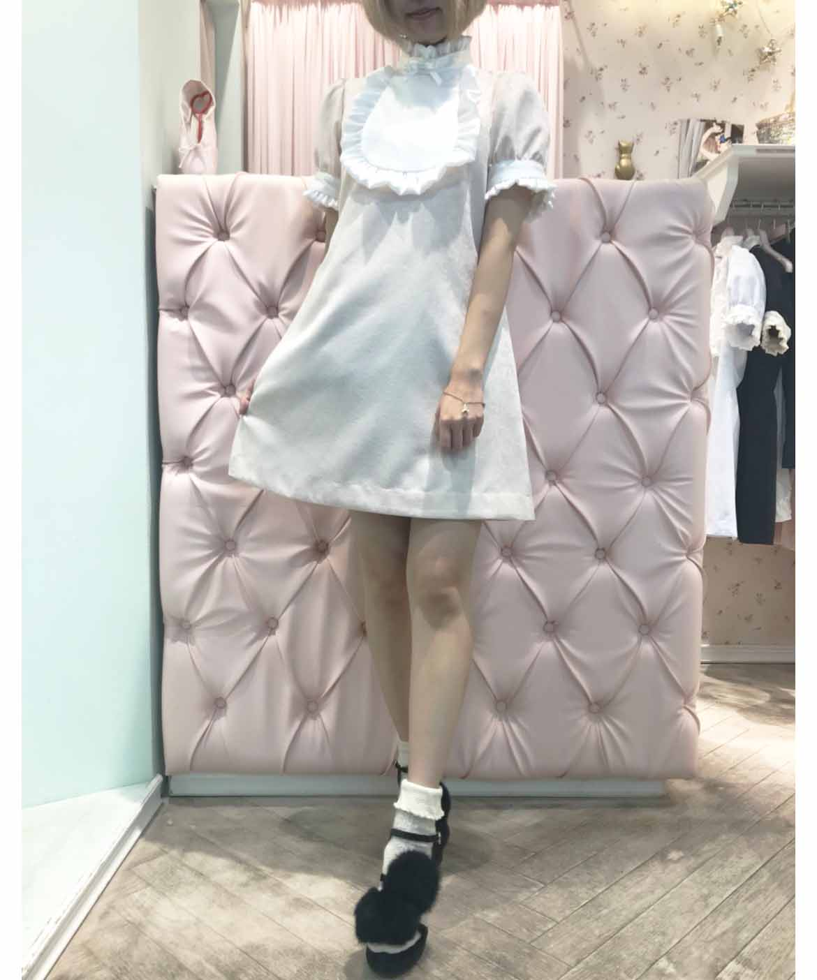 画像1: 【KURARA system×RoseMarie seoirコラボ】frill bebe one-piece dress (1)
