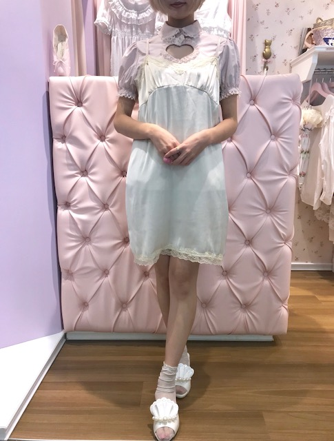 画像1: Lola gold one-piece dress (1)