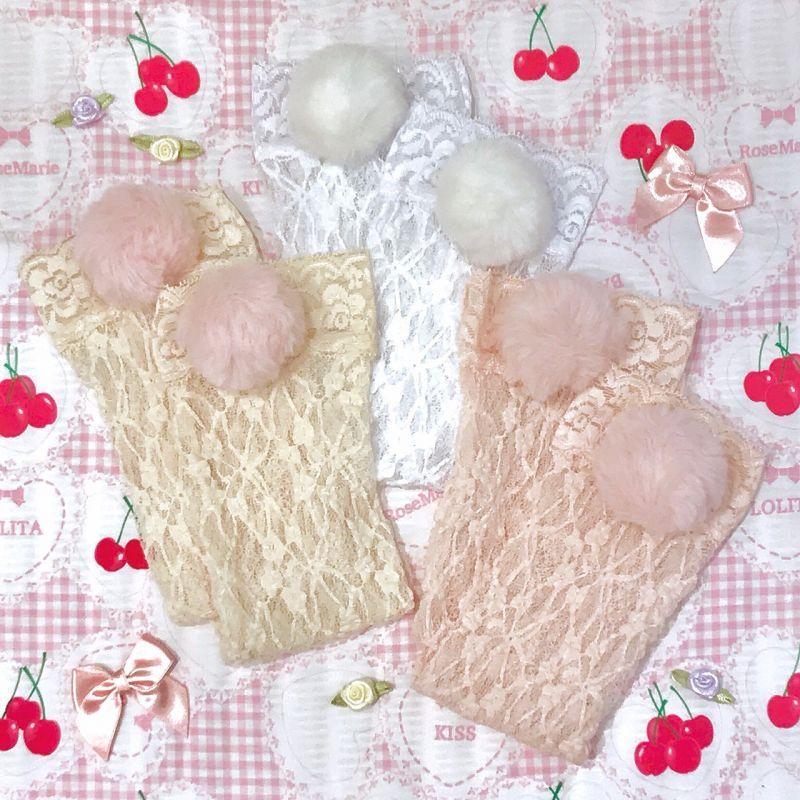 画像1: BunnyTail socks (バニーテール ソックス) (1)
