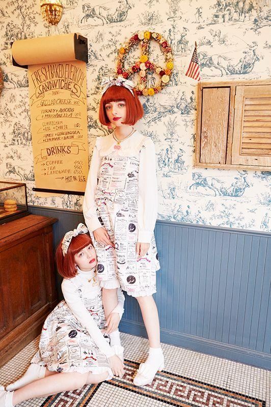 画像1: Mimi's one-piece dress (ミミワンピース) (1)