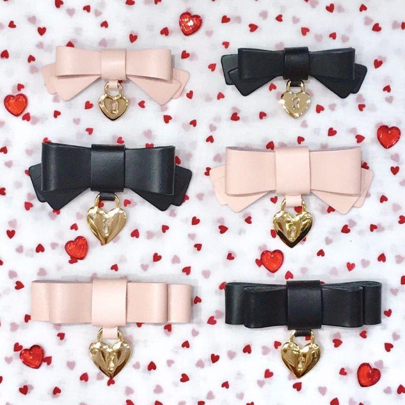画像1: heart key barrette(ハートキーバレッタ) (1)