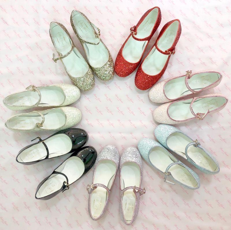 画像1: 【SPECIAL SALE】twinkle glitter shoes (1)