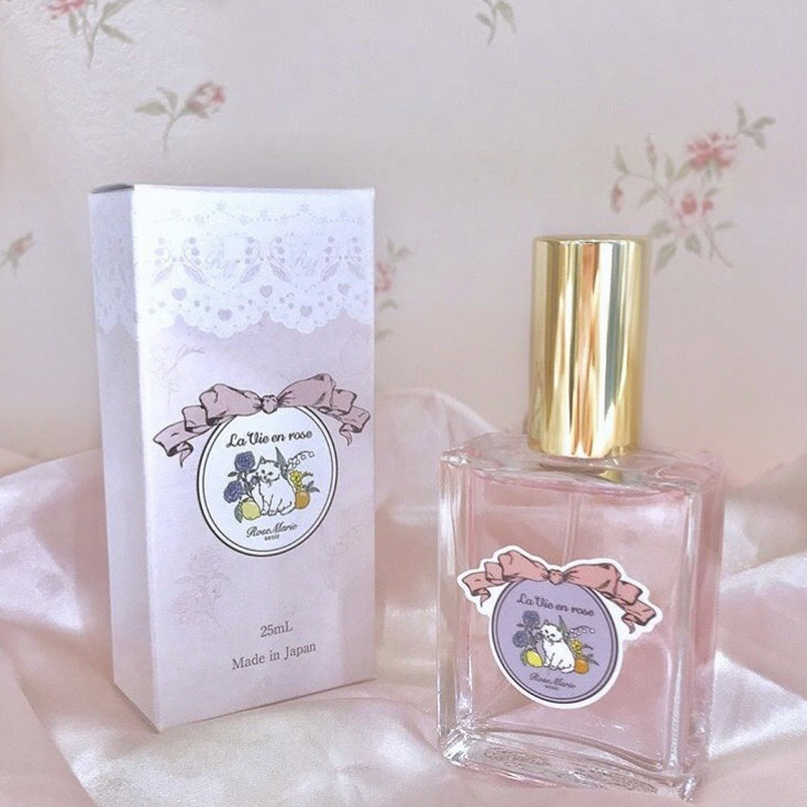 画像1: 【30%OFF】parfume(la vie en rose)(香水) (1)
