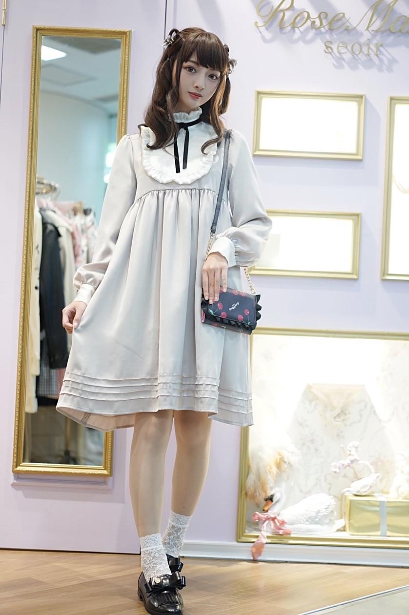 画像1: long fantasic doll one-piece dress (ロングファンタジックドール ワンピース)  (1)