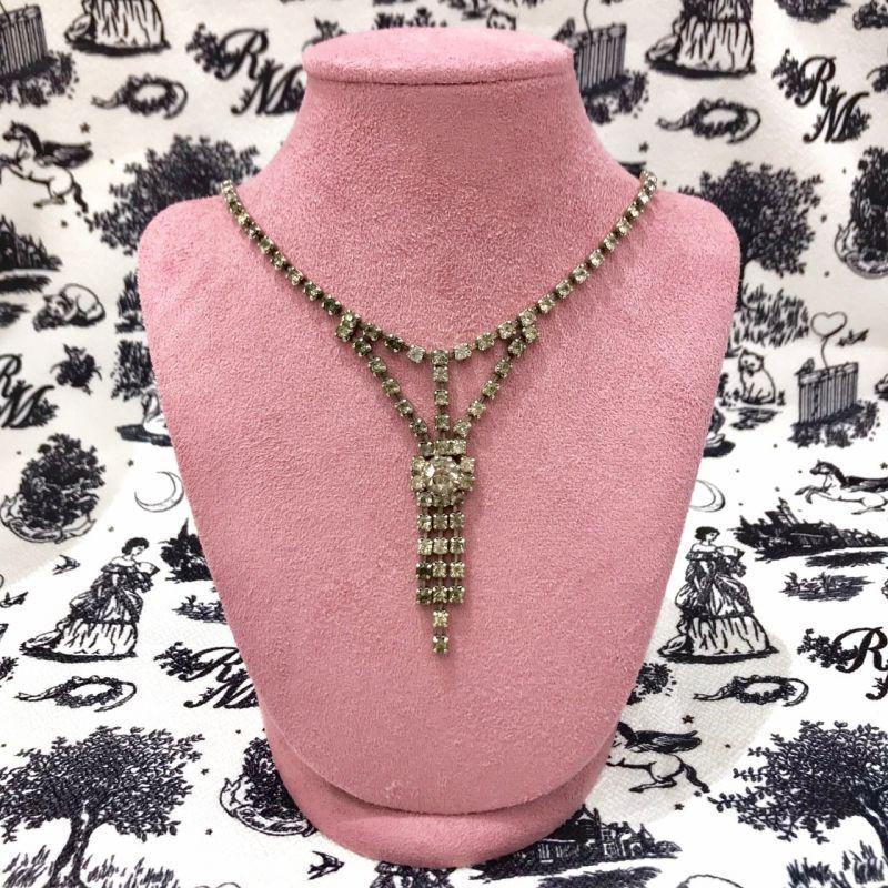 画像1: vintage bijou necklace (1)