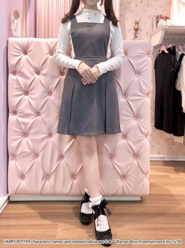 画像1: 【30%OFF】school girl one-piece dress(スクールガールワンピース) (1)