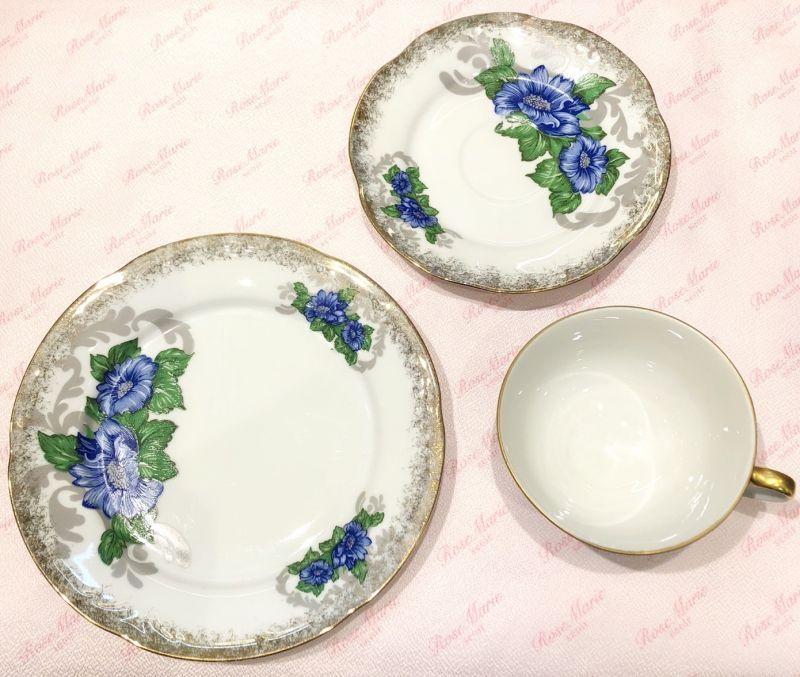 画像1: vintage cup and saucer (1)