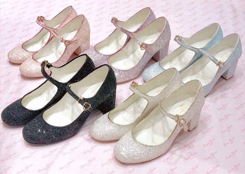 画像1: 【40%OFF】twinkle glitter shoes(トウィンクルグリッターシューズ) (1)