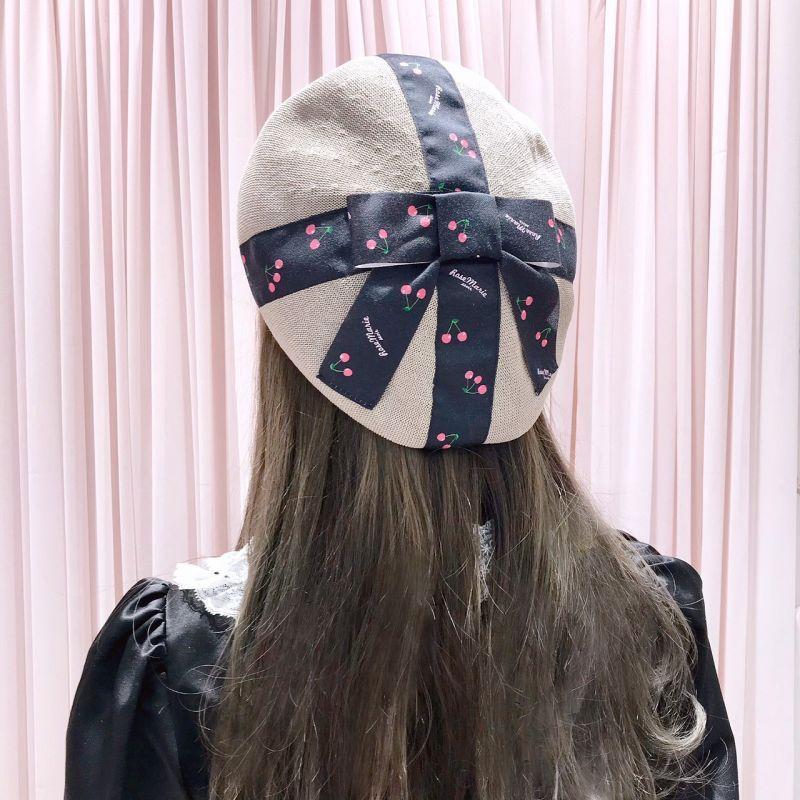 画像1: beret cap(ベレー帽) (1)