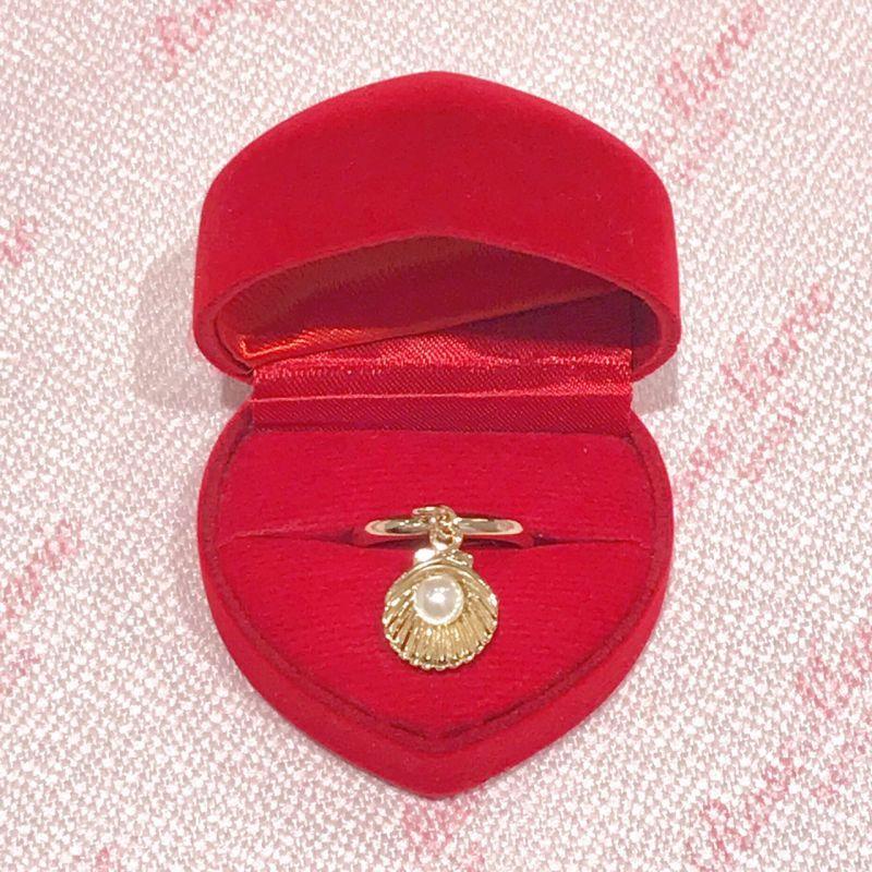 画像1: shell pearl ring(シェルパールリング) (1)