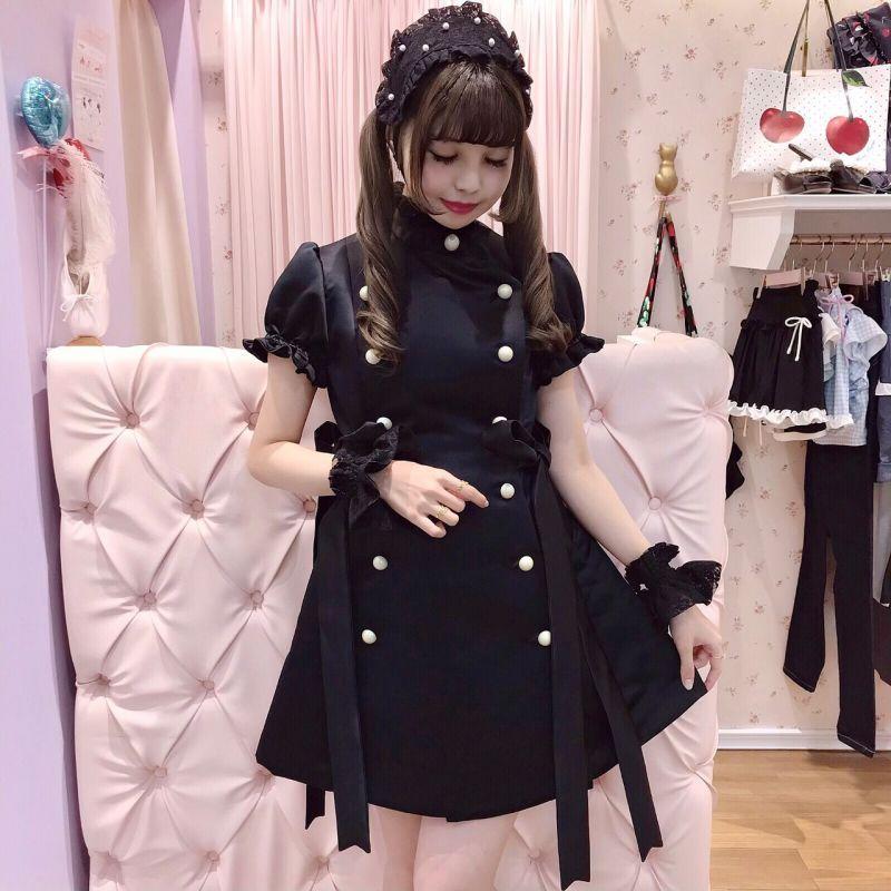 画像1: nurse one-piece dress(ナースワンピース) (1)