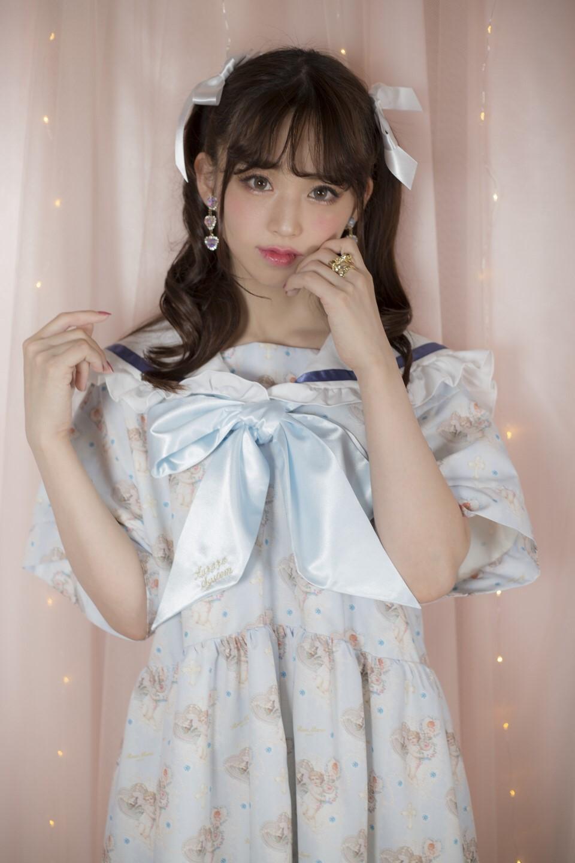 画像1: Angel sailor one-piece dress(エンジェルセーラーワンピース) (1)
