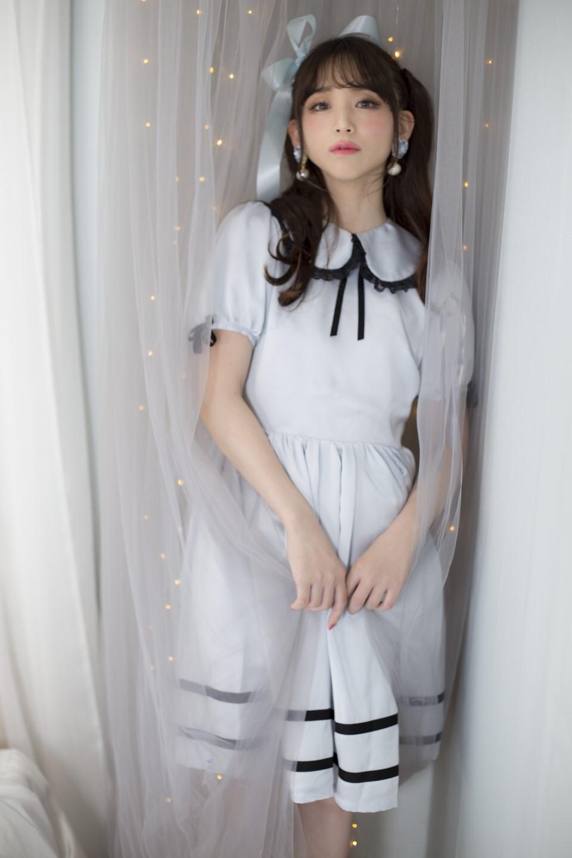 画像1: clarisse one-piece dress(クラリスワンピースドレス) (1)