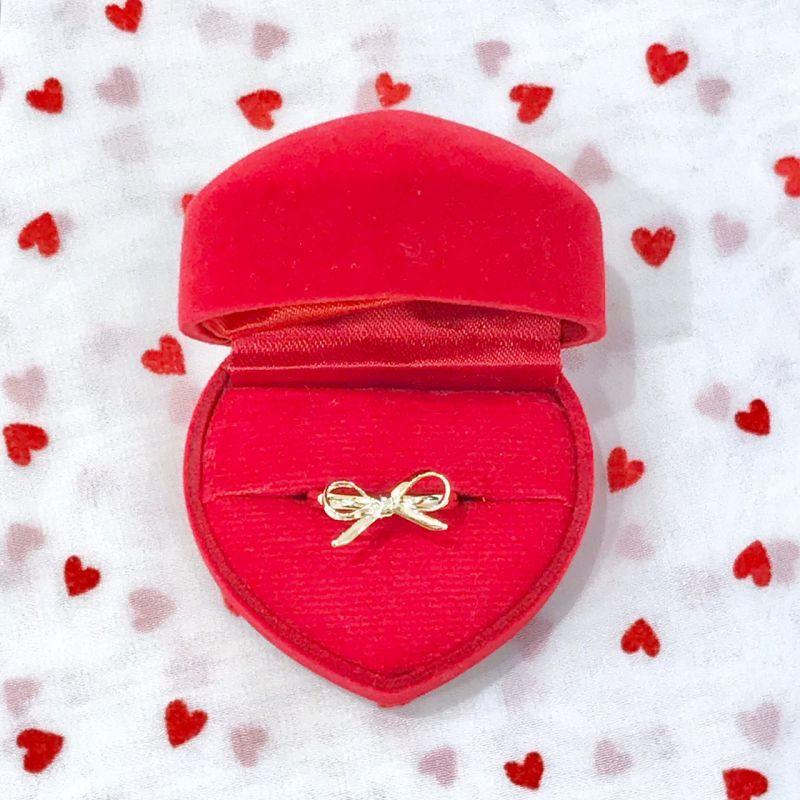 画像1: ribbon ring(リボンリング) (1)