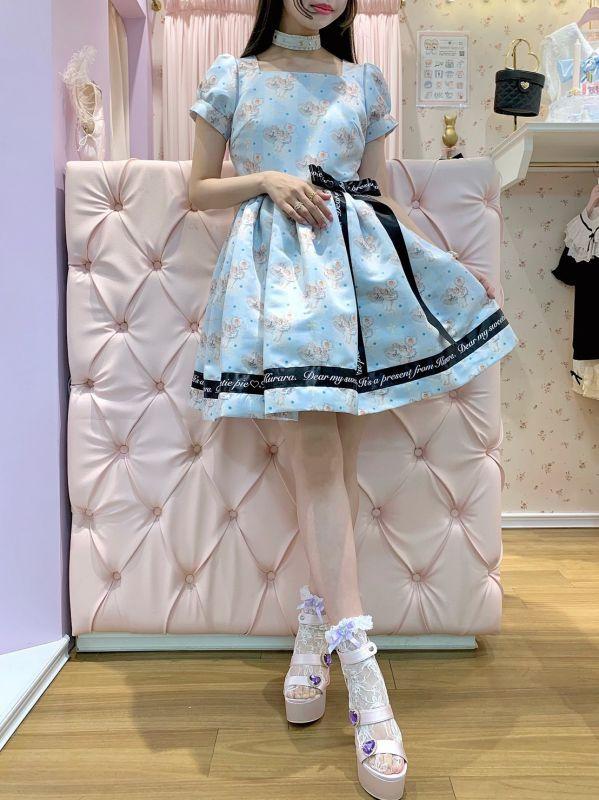 画像1: Emily's ribbon one-piece dress(エミリーリボンワンピース) (1)