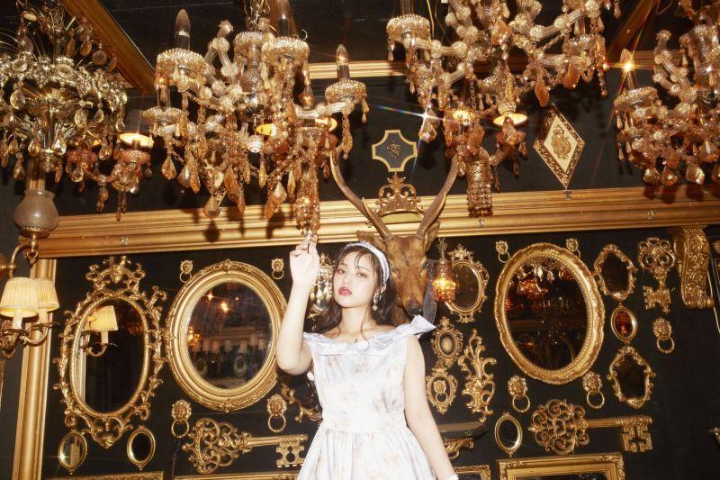 画像1: Doll ribbon one-piece dress(ドールリボンワンピース) (1)