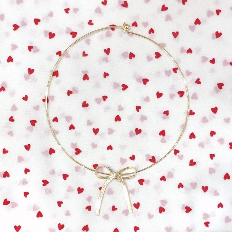 画像1: ribbon  choker(リボンチョーカー) (1)