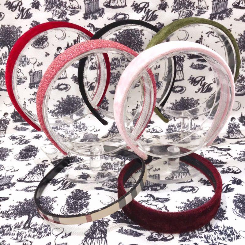 画像1: velvet headband(ベルベットカチューシャ) (1)