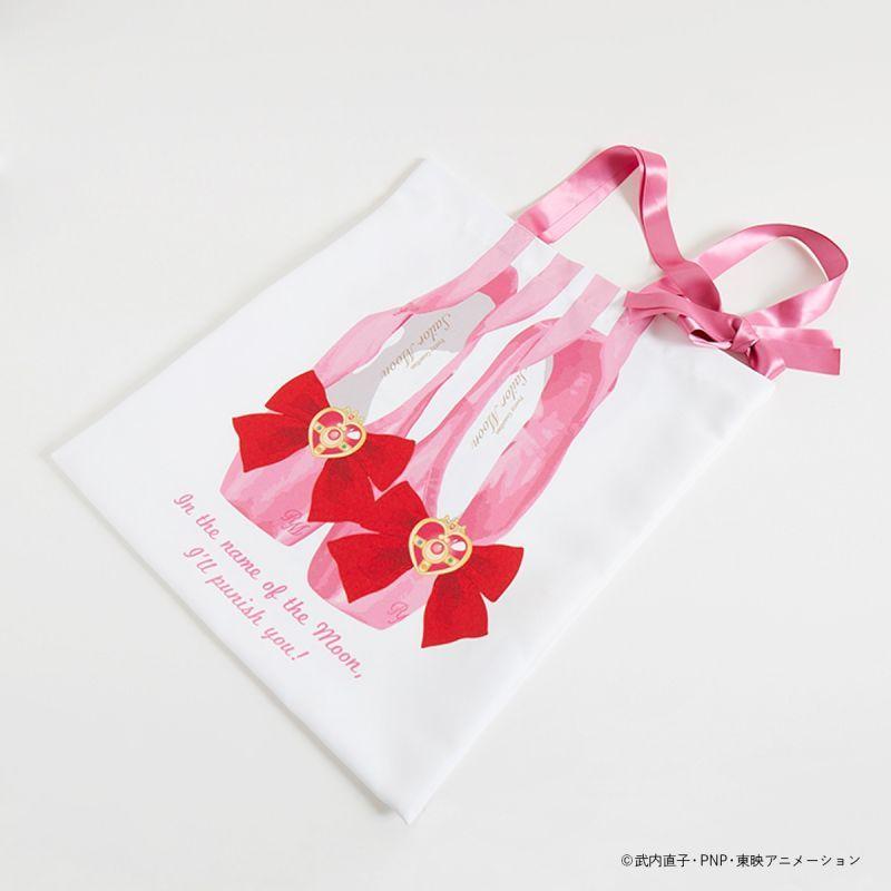 画像1: セーラームーンストア×ローズマリーソワールコラボ  etude ballet bag (1)