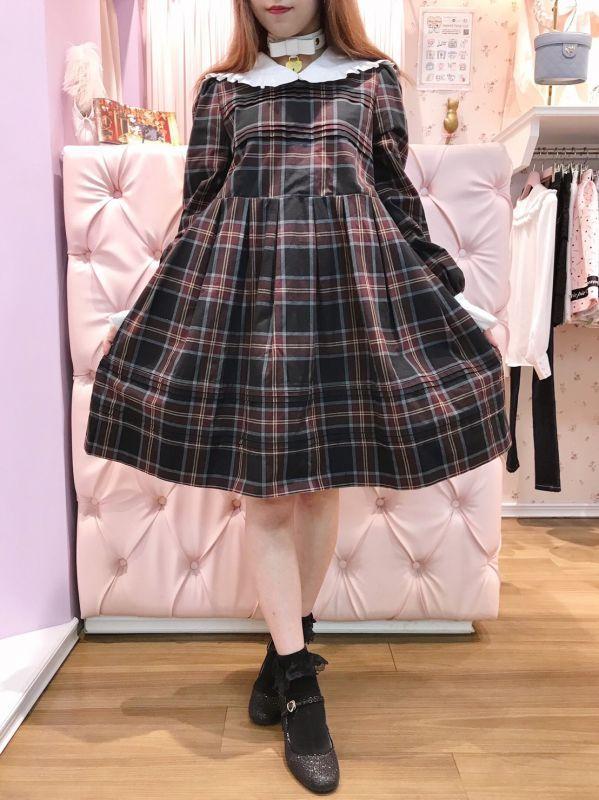 画像1: 【30%OFF】sailor doll one-piece dress(セーラードールワンピース) (1)