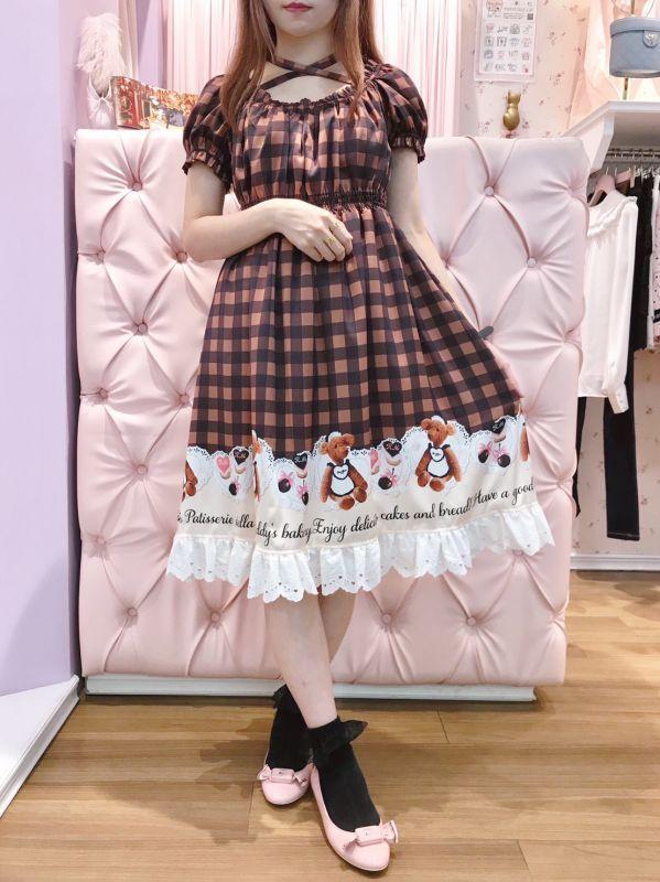 画像1: front cross one-piece dress(フロントクロスワンピース) (1)