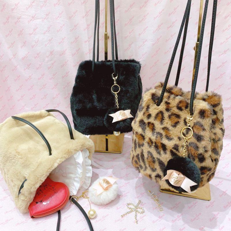 画像1: fur bag(ファーバッグ) (1)