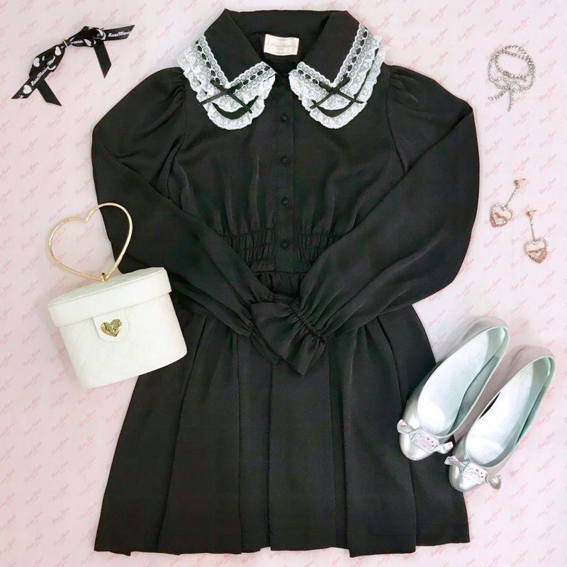 画像1: white eden one-piece dress (1)