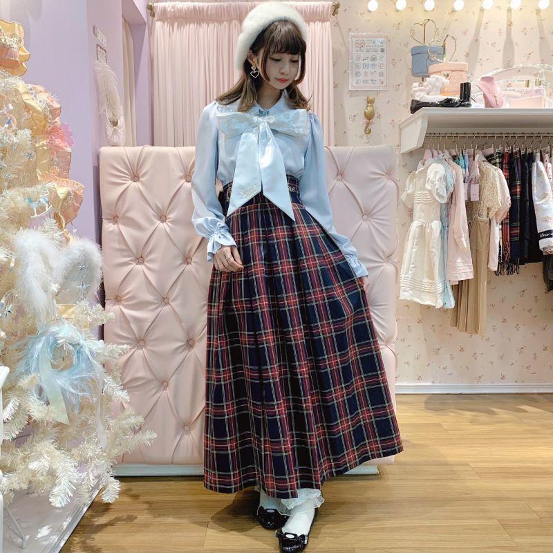 画像1: Once upon a time long skirt(ワンスアポンアタイムロングスカート) (1)