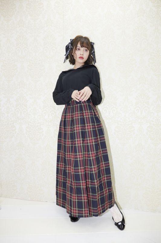 画像1: 【20%OFF】Once upon a time long skirt(ワンスアポンアタイムロングスカート) (1)