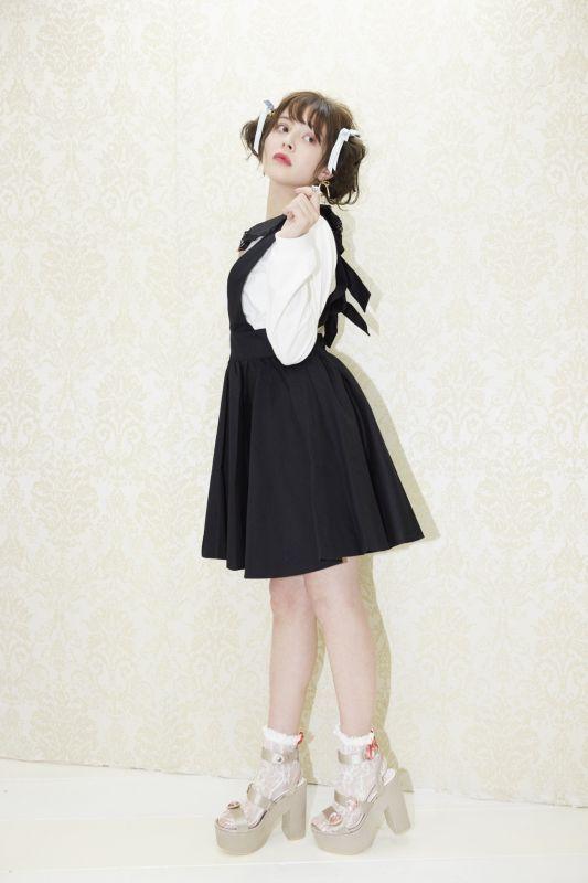 画像1: back ribbon skirt(バックリボンスカート) (1)