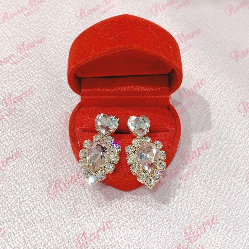 画像1: small heart pierce(スモールハートピアス) (1)
