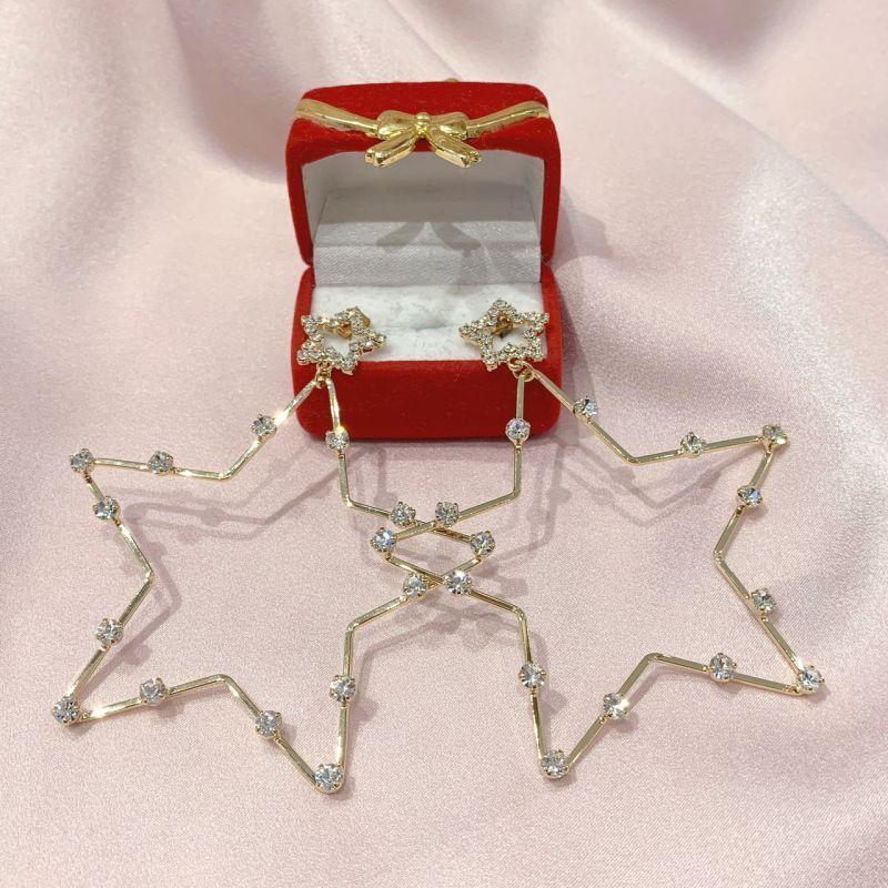 画像1: star bijou pierce(スタービジューピアス) (1)