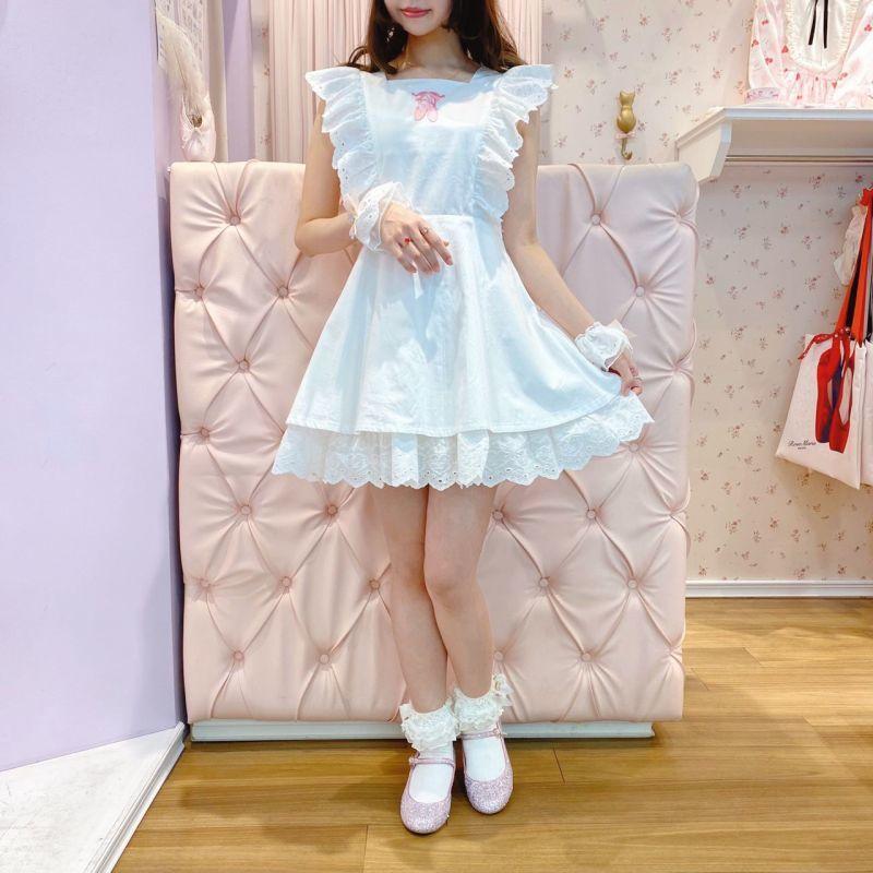 画像1: 【20%OFF】little girl one-piece dress(リトルガールワンピース) (1)